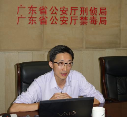 赴中國大陸沿海省市商議執法合作